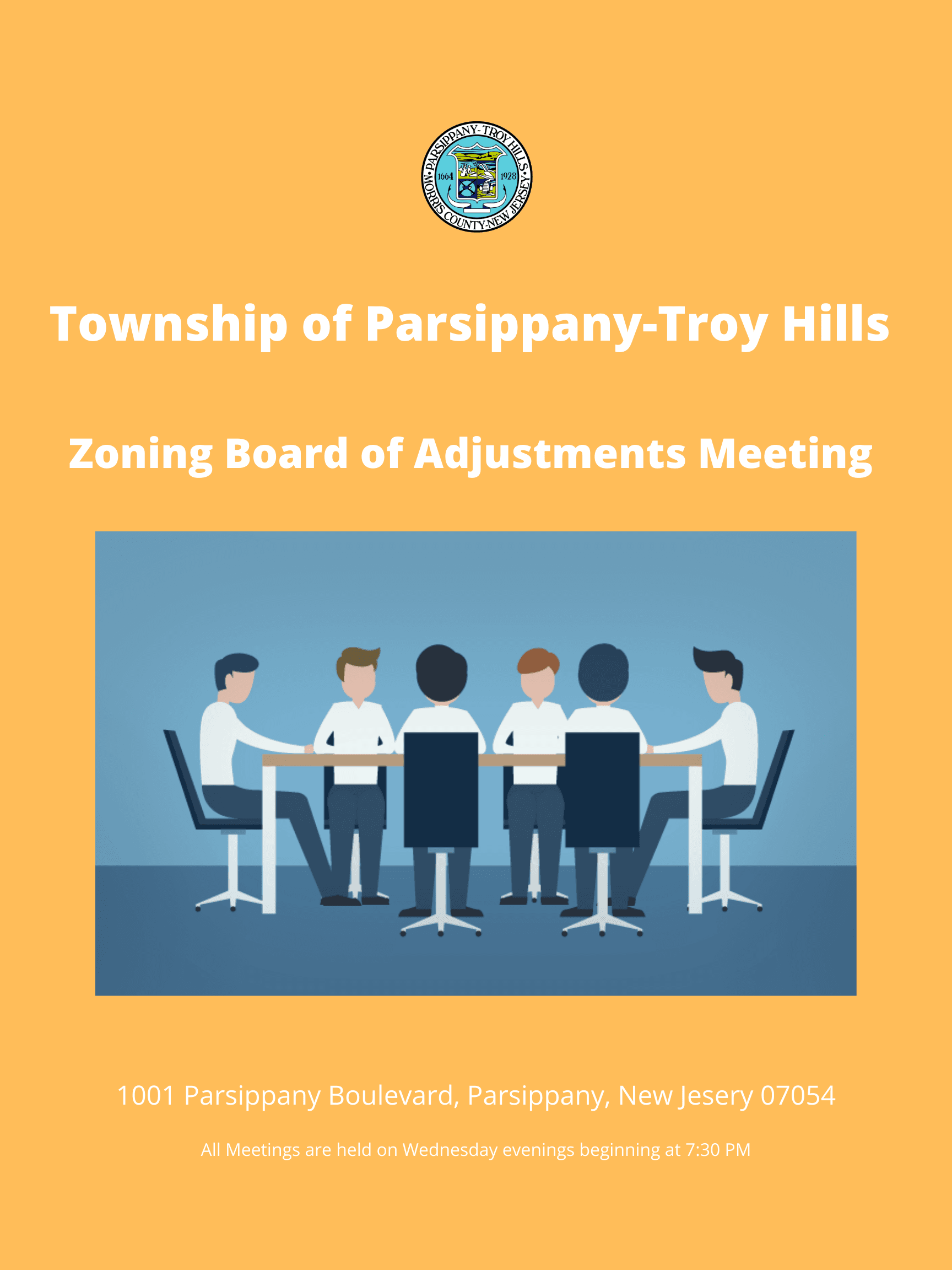 Township of Parsippany-Troy Hills Planning Board Meeting (2)