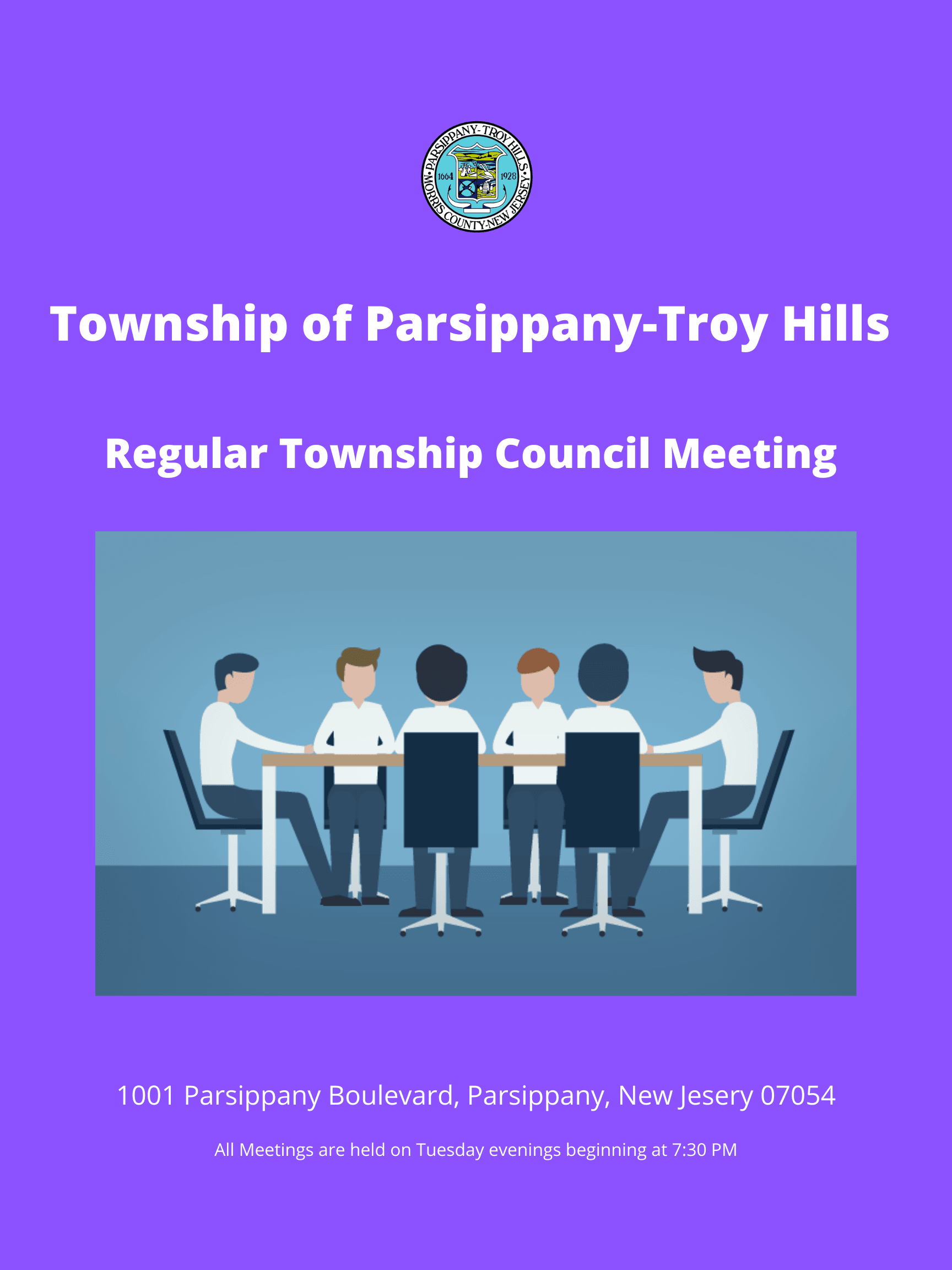 Township of Parsippany-Troy Hills Regular Township Council Meeting