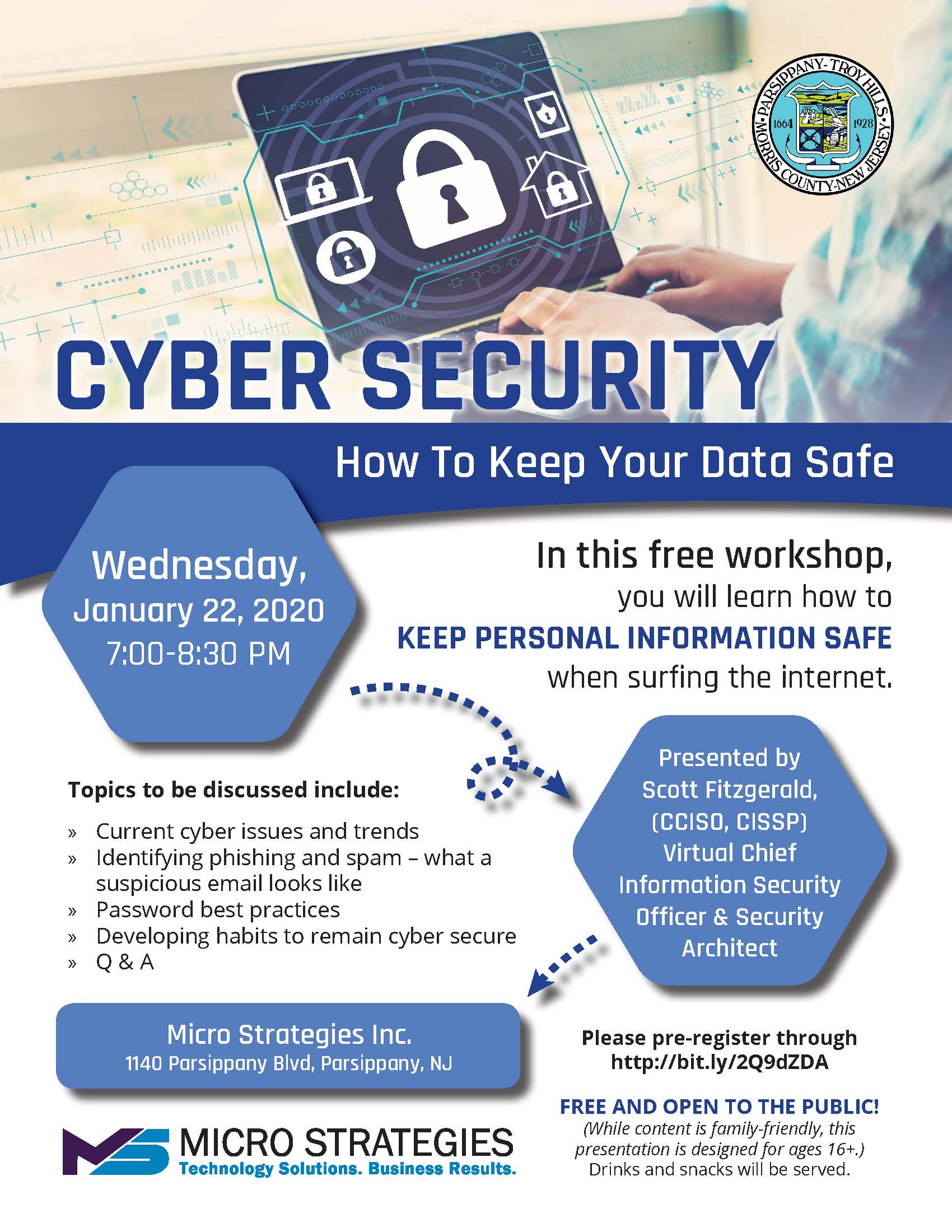 Parsippany Cyber Security Jan 2020