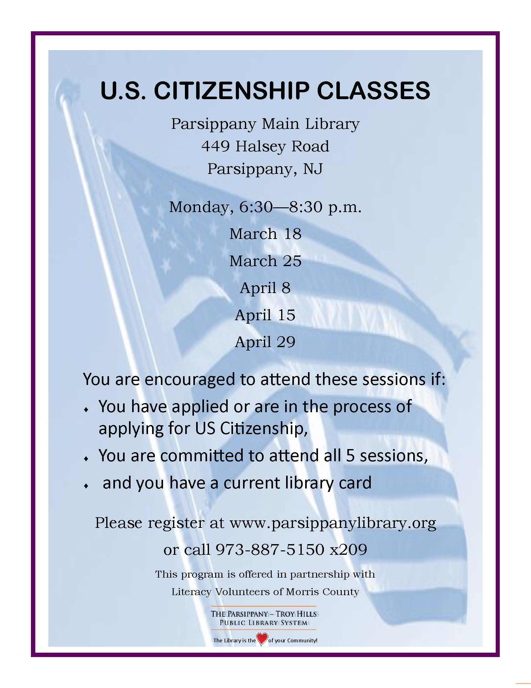 Citizenship Flyer March 2019