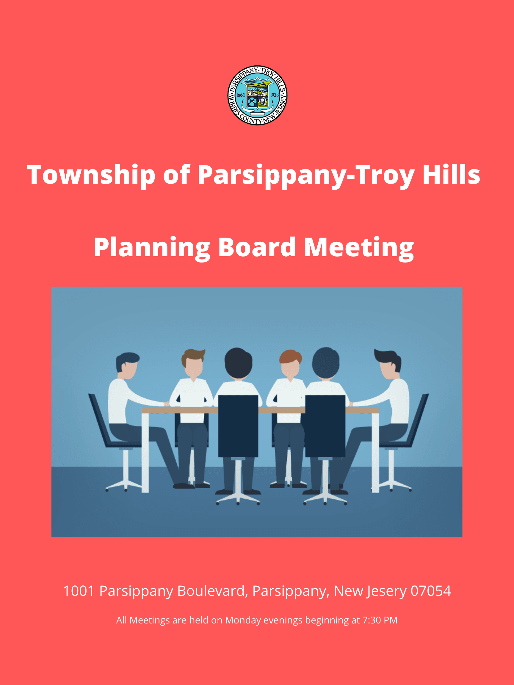 Township of Parsippany-Troy Hills Planning Board Meeting