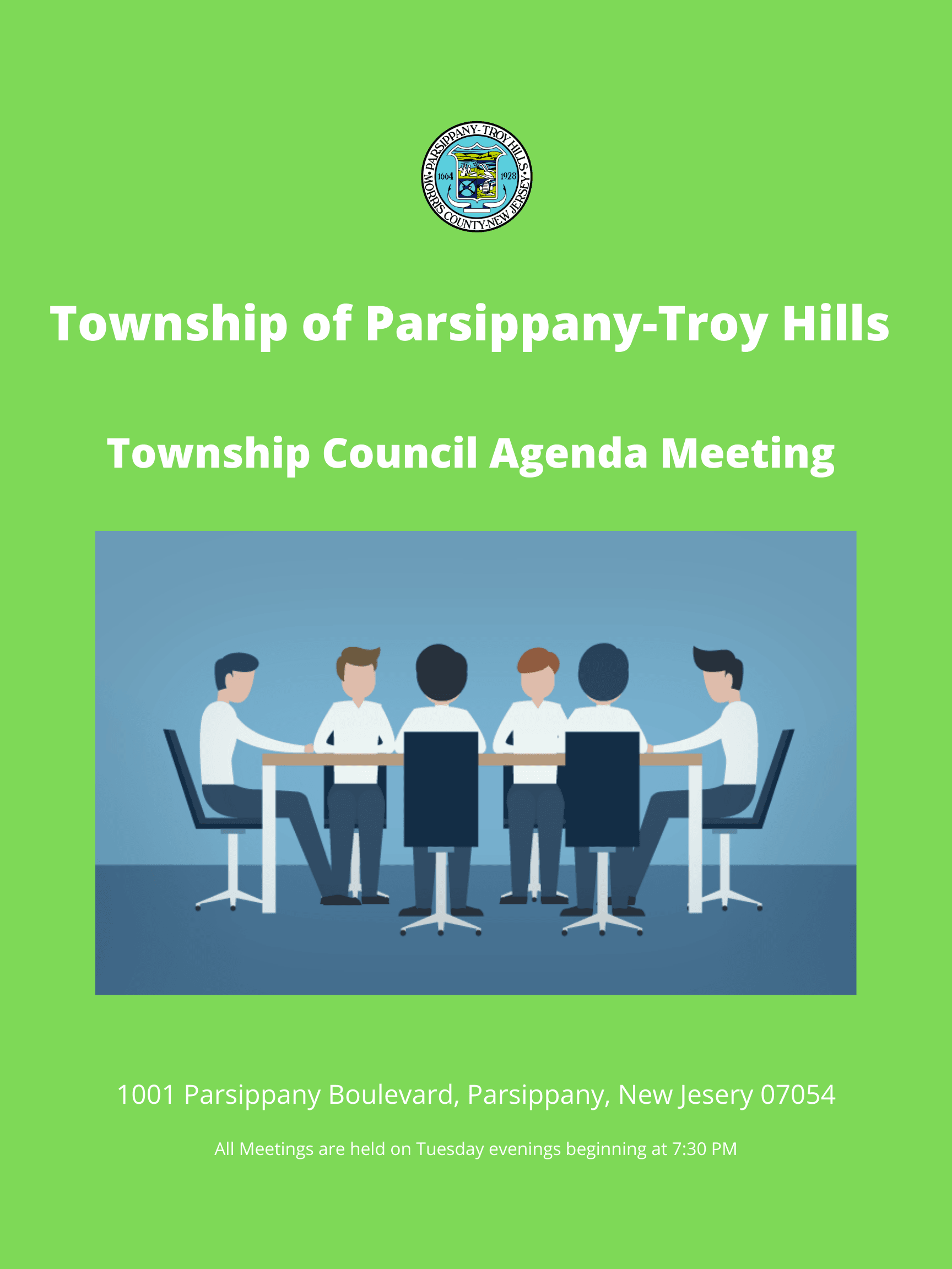 Township of Parsippany-Troy Hills Council Agenda Meeting