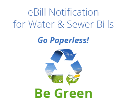 Go Paperless - Be Green Logo